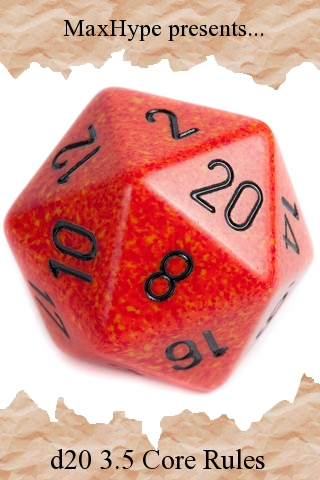 Screenshot d20 3.5 Core Rules