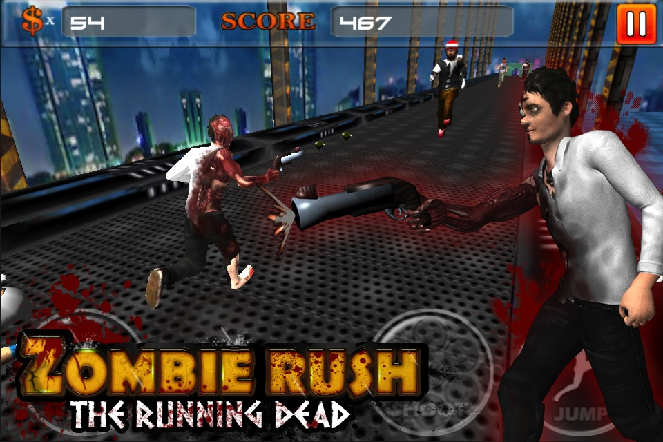 Screenshot Zombie Rush : The Running Dead